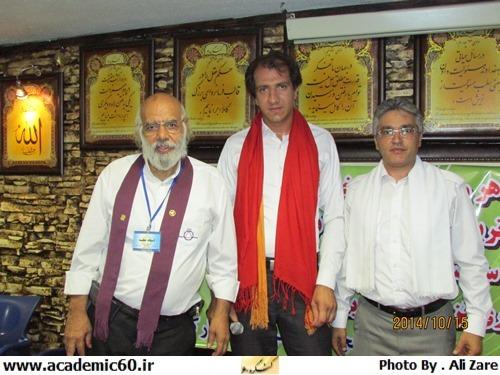 مراسم اهدای شال دستیار دیده بانی آقای مجید در شعبه