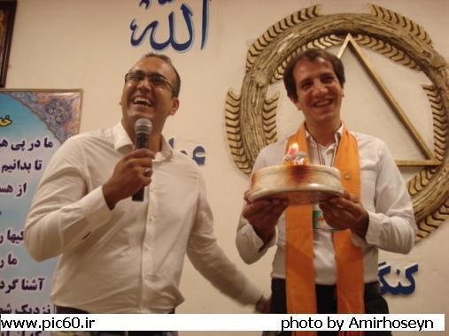 جشن اولین سال رهایی مسافر محمد (نمایندگی اصفهان)