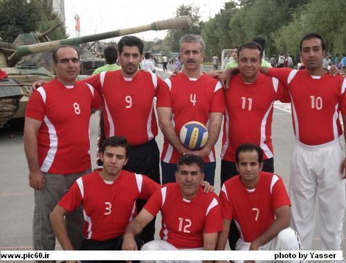 کسب مقام سوم تیم والیبال نمایندگی اصفهان - مسابقات