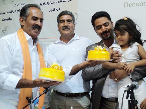 جشن اولین سال رهایی محسن و علی - نمایندگی شادآباد
