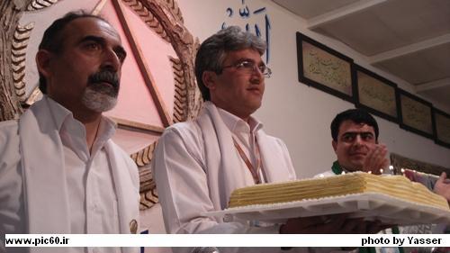 جشن یازدهمین سال رهایی احمد حکیمی - نمایندگی اصفها