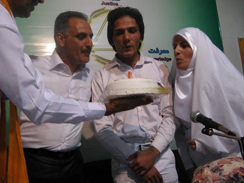 جشن اولین سال رهایی صابر - نمایندگی اصفهان