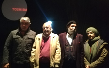 پنجمین روز تئاتر «پنجره ای رو به آسمان» با حضور افراد مشهور
