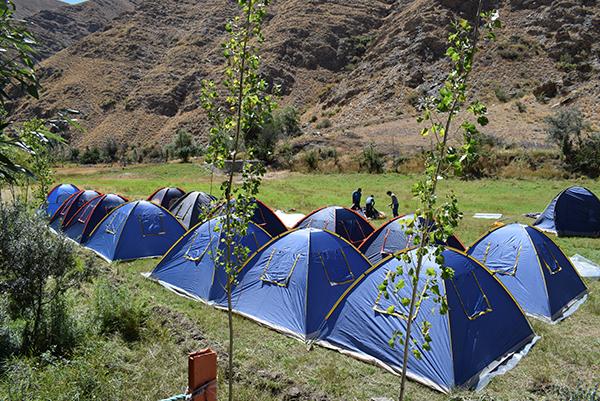آماده سازی اردو